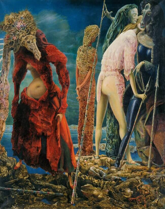 The Antipope, 1941 - by Max Ernst