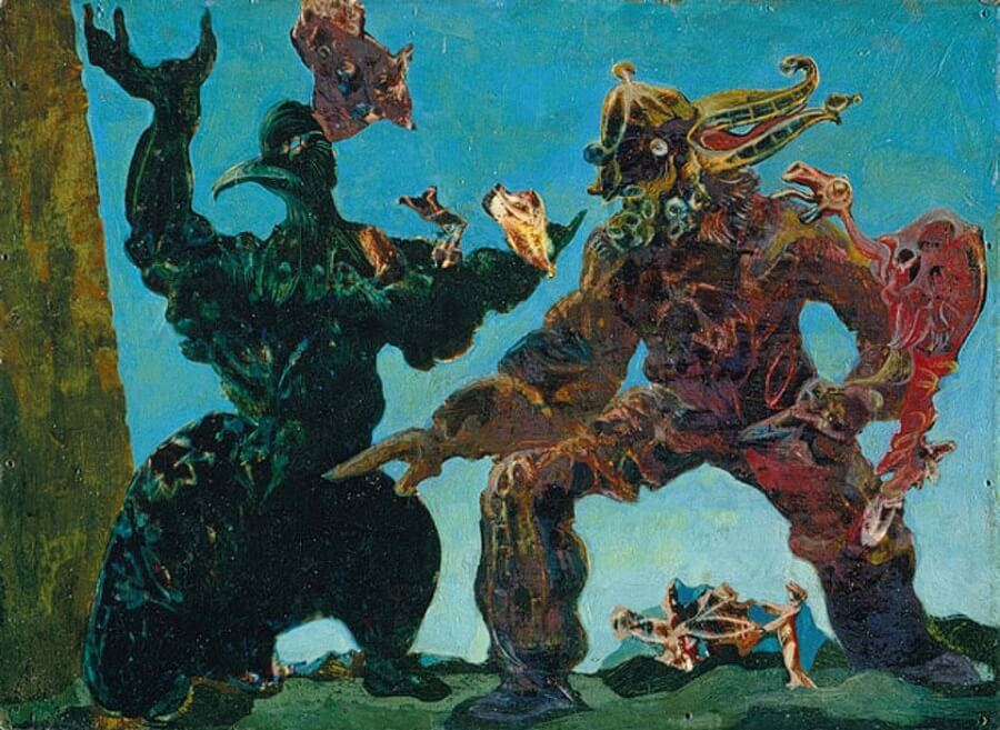 The Barbarians, 1937 - by Max Ernst